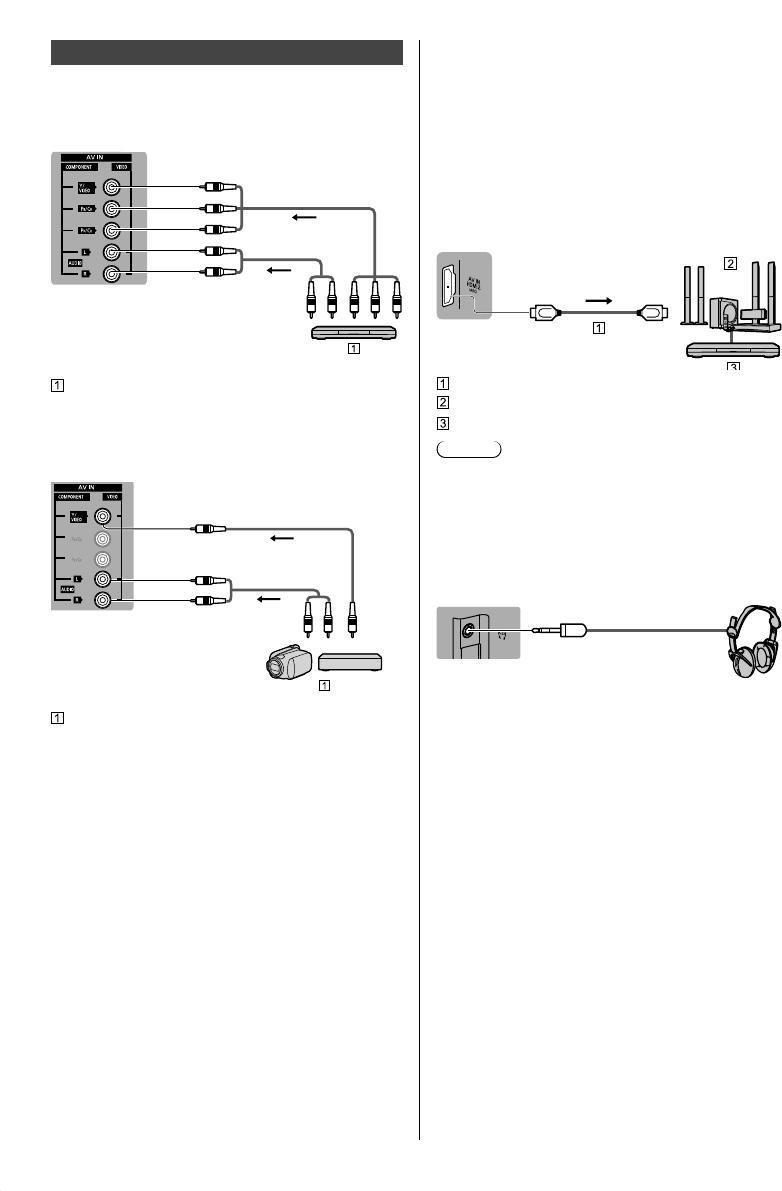 Panasonic Dolby Audio TH-43FX600H/TH-43FX630H/TH-49FX600H/TH