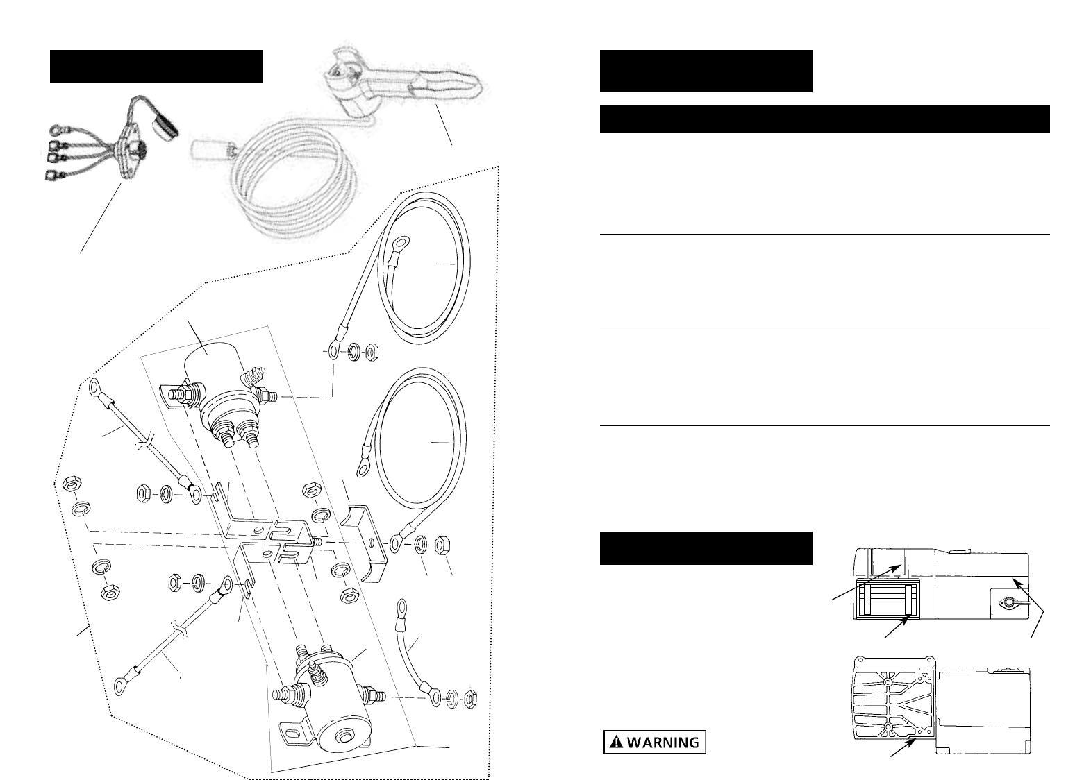 Superwinch S3000/S4000/S5000 Owners Manual - Page 10