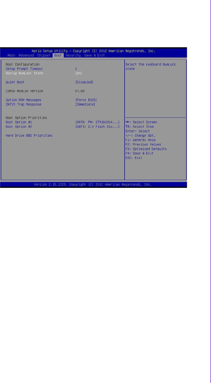 Advantech ARK-2150 User Manual Download - 3 5 Boot Settings