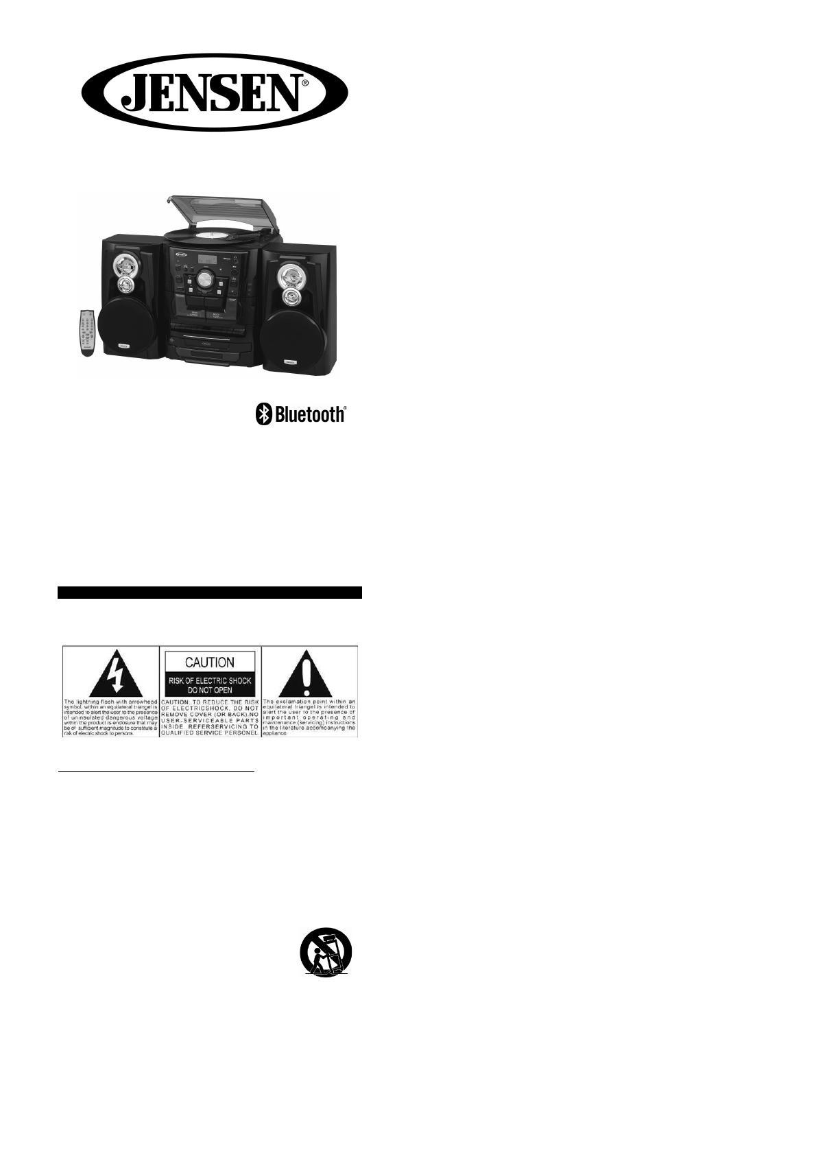 Jensen Jmc-1250 User Manual Download