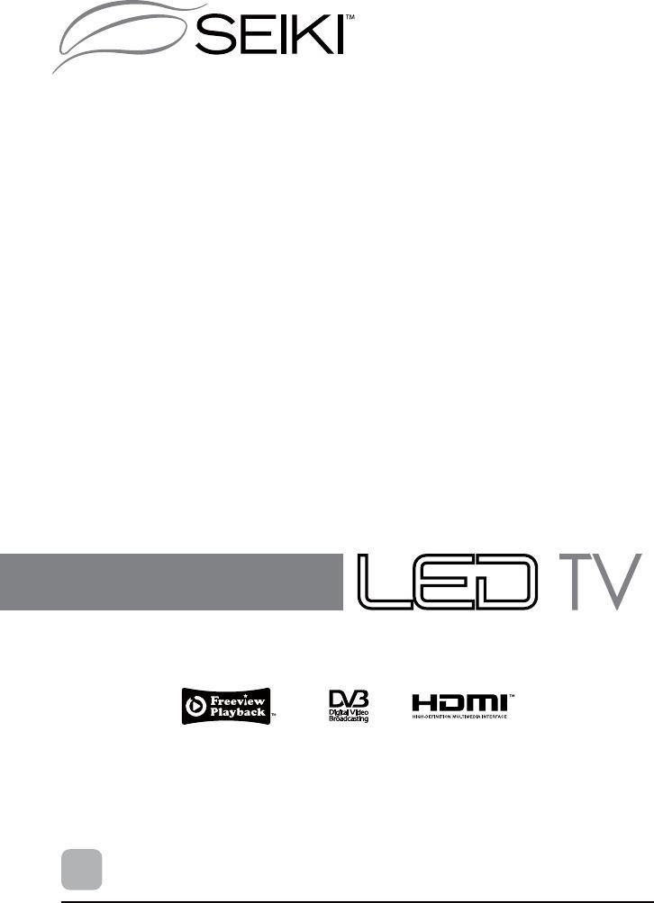 SEIKI HDMI SE39HY03UK User Manual Download - Page 1