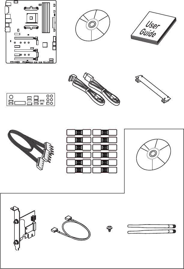 MSI X370 User Guide Download - Unpacking