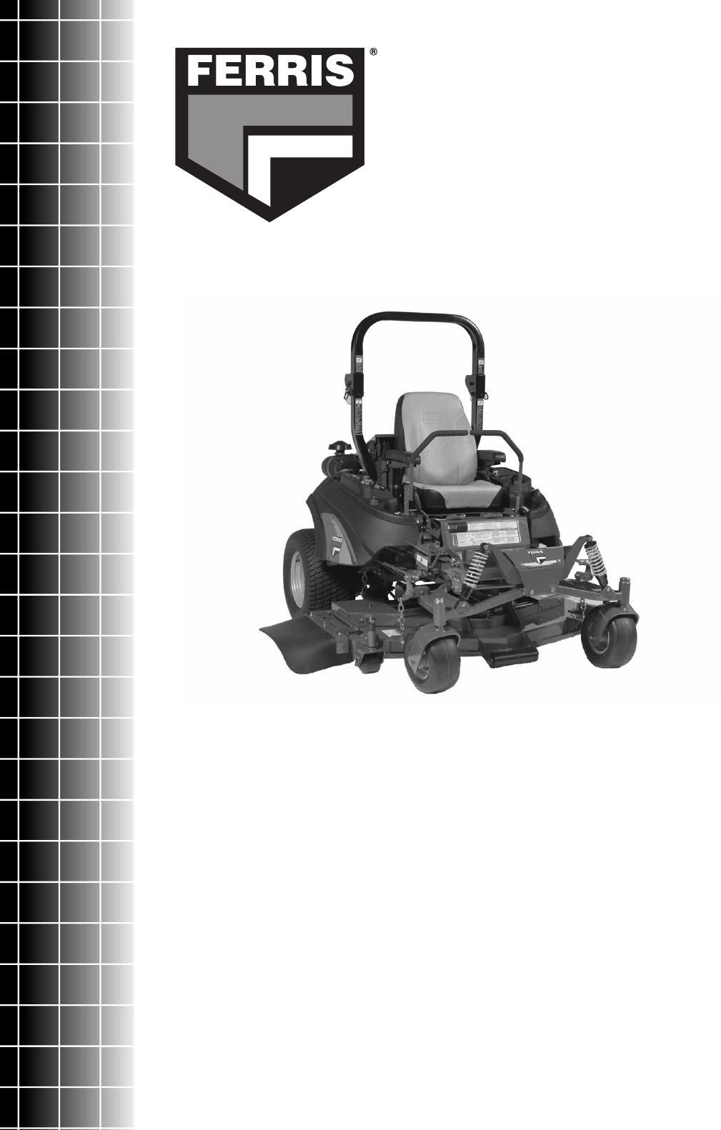 Ferris Industries IS4500Z Parts Manual Download - Page 1
