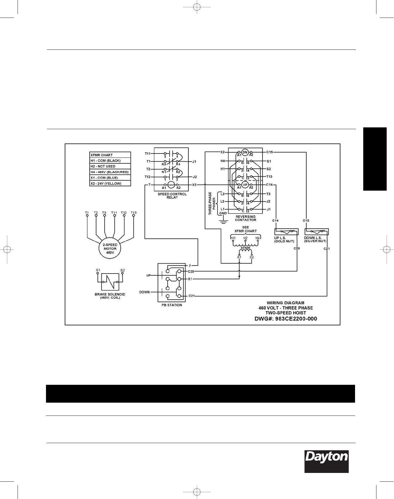 Dayton 3yb72 3yb99 3ye10 3ye15 Operating Instructions And Parts Rh  Rsmanuals Com On Motor Dayton Diagram Parts Electric 3N607 For Dayton 3yb72  3yb99 3ye10 ...